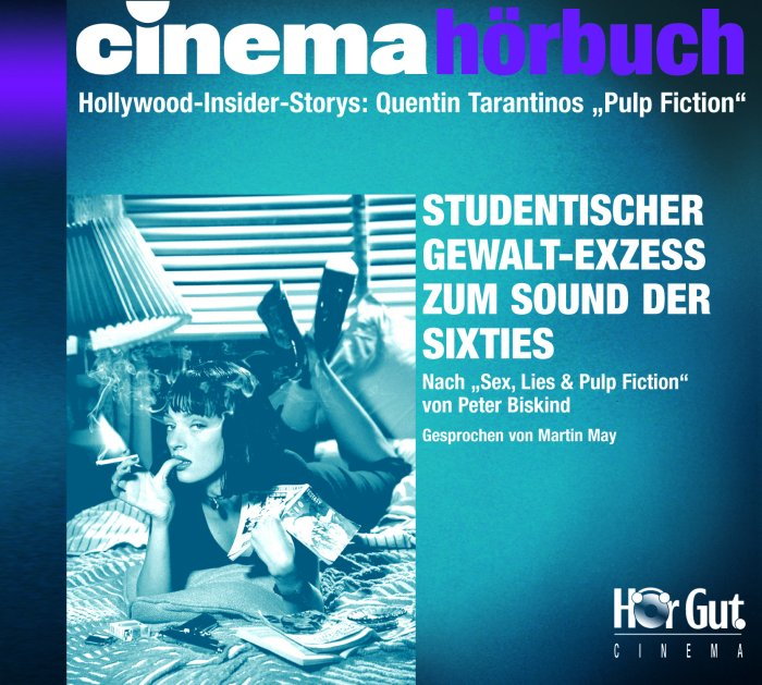 Cover Cinema Hörbuch Tarantino